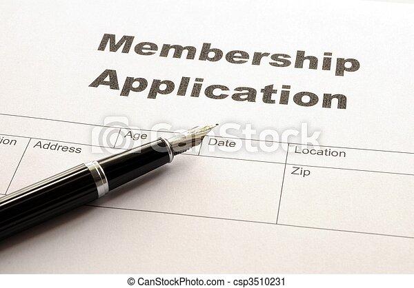 membership application - csp3510231