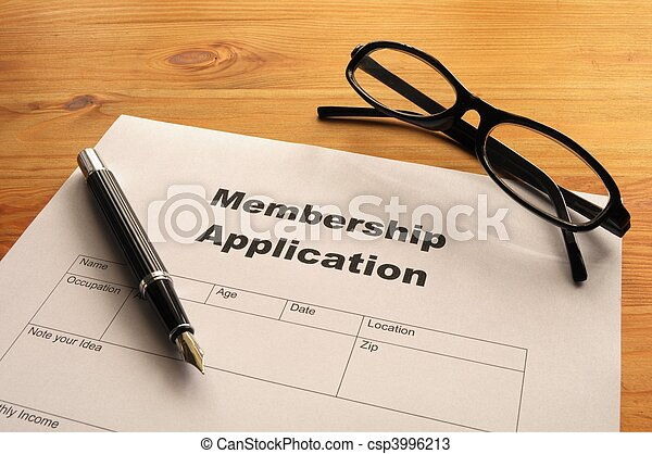 membership application - csp3996213