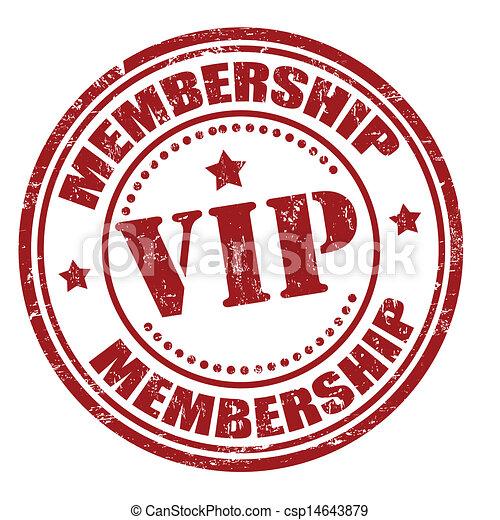 Membership vip stamp - csp14643879