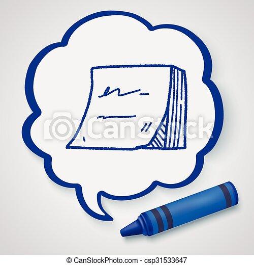 Memo doodle - csp31533647