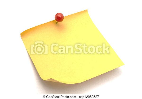 memo paper - csp12050827