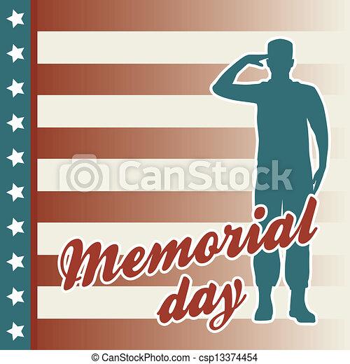 memorial day - csp13374454