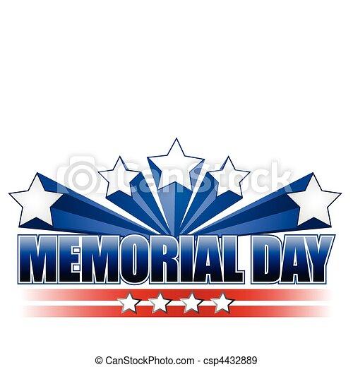Memorial Day - csp4432889