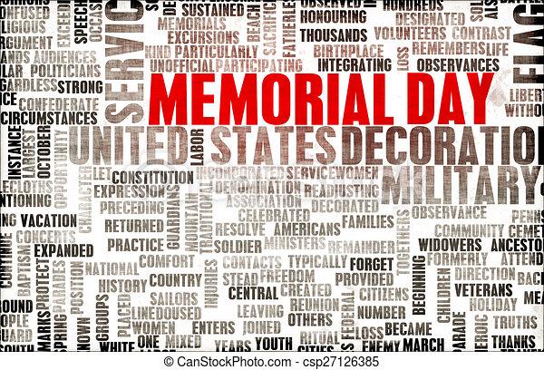 Memorial Day - csp27126385