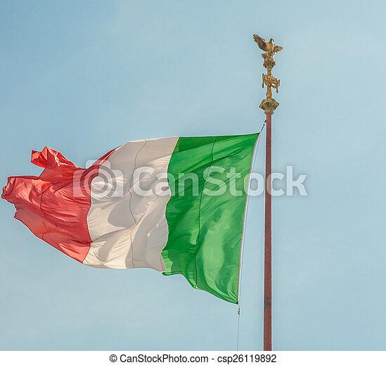 memorial Vittoriano, Rome - csp26119892