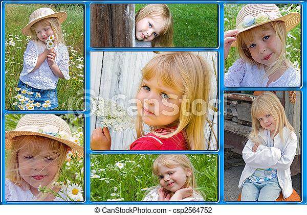 memorias, niñez - csp2564752