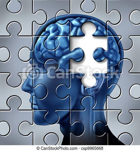 Memory loss and Alzheimer Disease - csp9965668