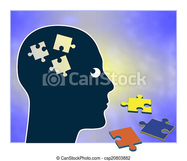 Memory Loss - csp20803882