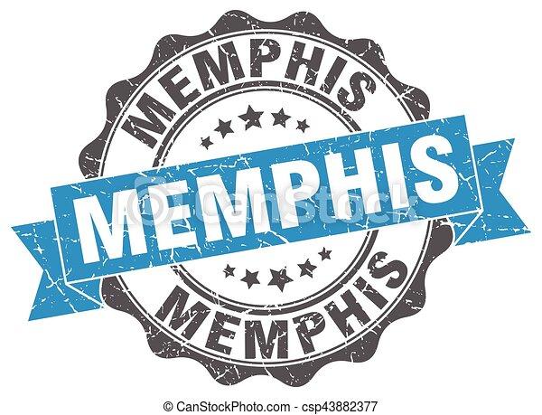 Memphis round ribbon seal - csp43882377