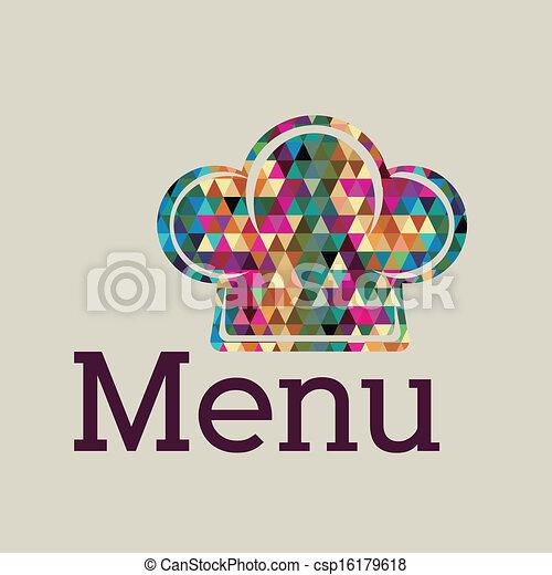 Diseño de menú - csp16179618