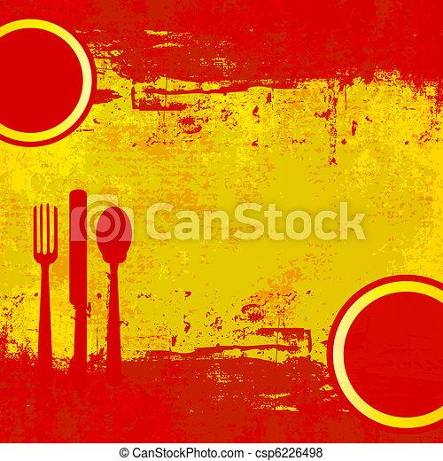 Menú español - csp6226498