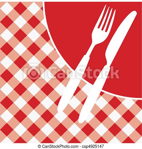Tarjeta De Menú Invitación Tarjeta De Menú Rojo Y