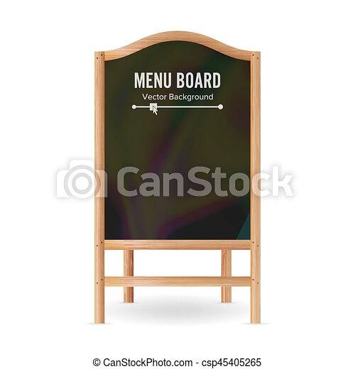 Schultafel clipart leer  menükarte, abbildung, schultafel, vector., leer, leerer , tafel