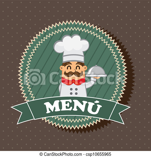 Menu-Label - csp10655965