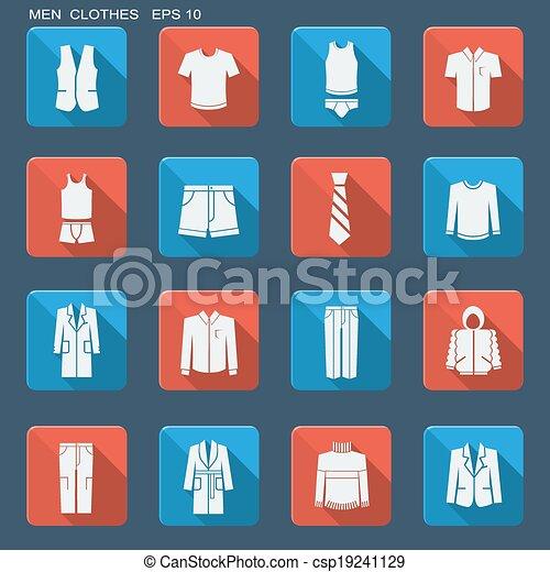 men., ファッション, 衣服 - csp19241129