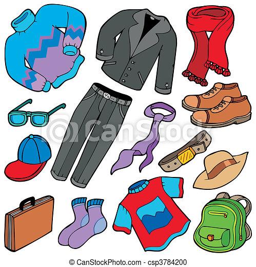 Men apparel collection - csp3784200
