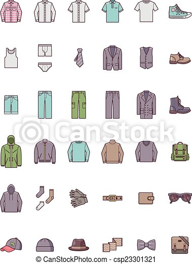Men clothes set - csp23301321