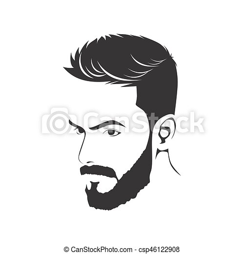 MEN HAIRCUT HAIRSTYLE WITH BEARD