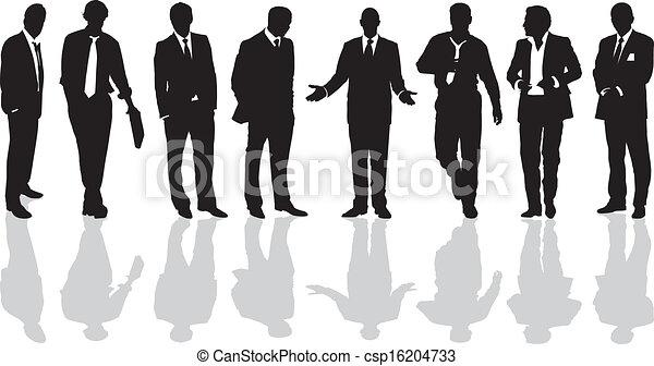 Men in business suits - csp16204733