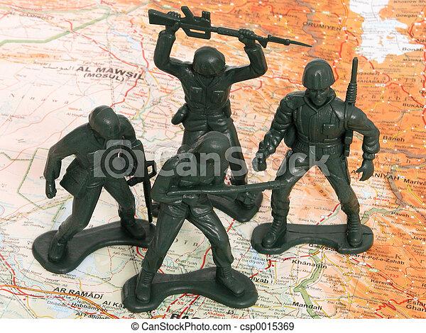 Men in Iraq - csp0015369