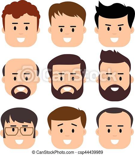Men Male Human Face Head Hair Hairstyle Mustache Bald People Fashion
