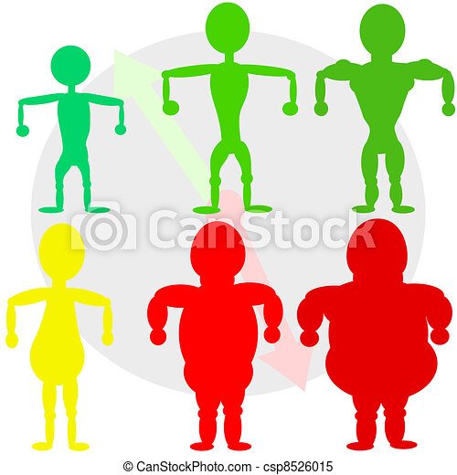 Men shapes