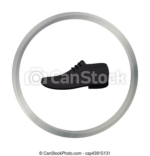 Men Shoes icon of vector illustration for web and mobile - csp43915131