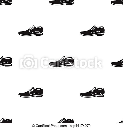 Men Shoes icon of vector illustration for web and mobile - csp44174272
