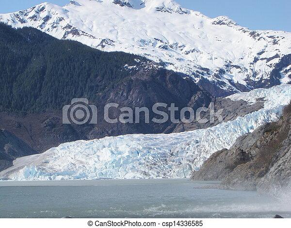 Mendenhall Glacier Juneau Alaska - csp14336585