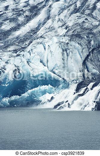 Mendenhall Glacier - csp3921839