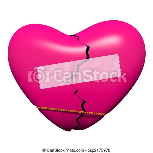 Mending a Broken Heart - csp2175978