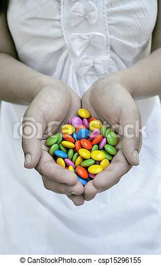 menina, doce - csp15296155