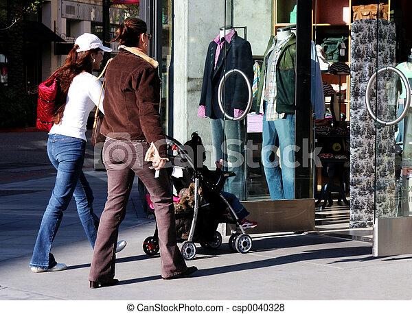 meninas, shopping indo - csp0040328