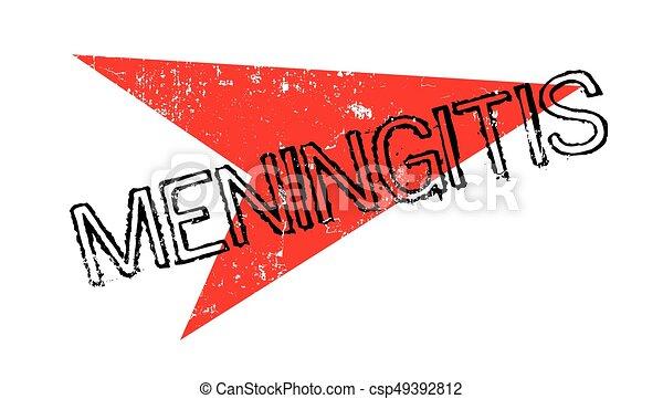 Meningitis rubber stamp - csp49392812