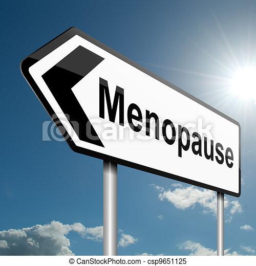 Menopause concept. - csp9651125