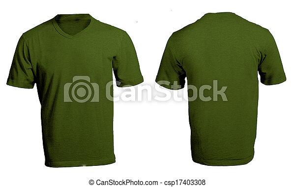 men s blank green v neck shirt template men s blank green v neck