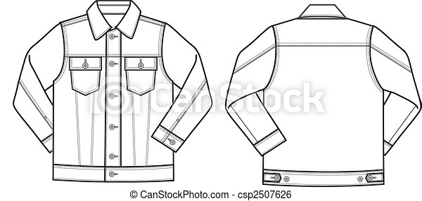 Mens Denim Jacket - csp2507626