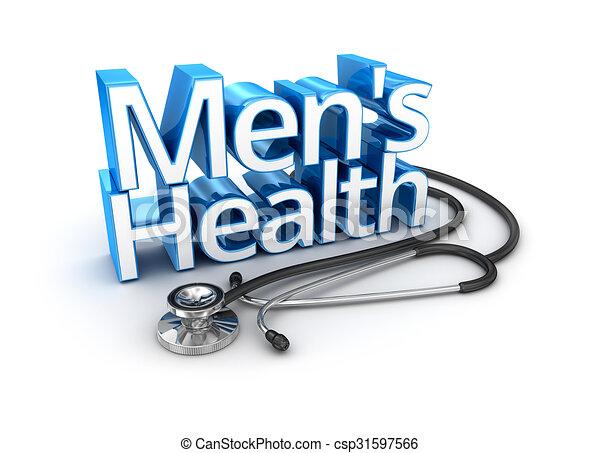 Men S Health Text Medicine 3d Concept Rh Canstockphoto Com National Mens Month