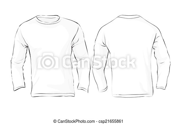 shirt drawing template - Selo.l-ink.co