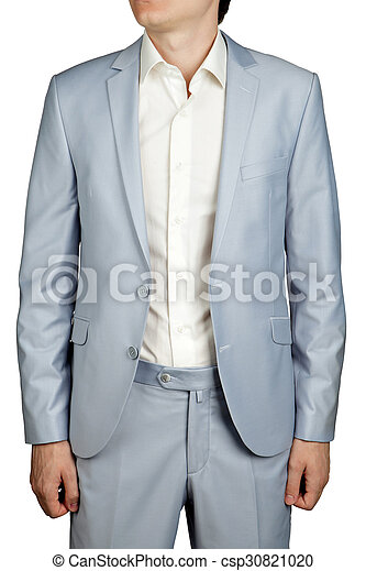 Mens prom dress suit, light blue pastel blazer and trousers ...