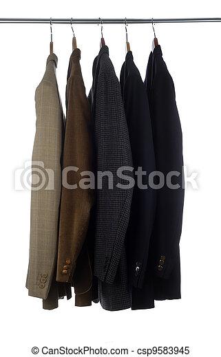 Mens Suit Coats - csp9583945