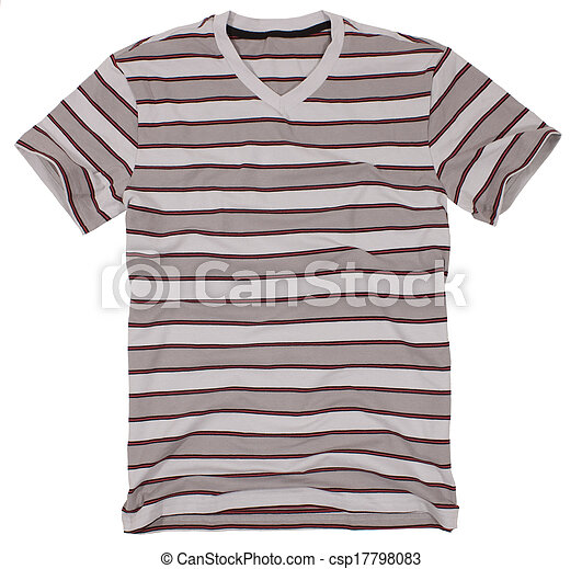 Men's t-shirt isolated on a white - csp17798083