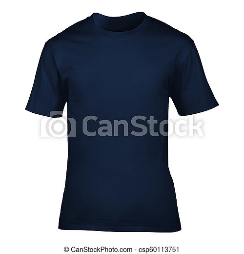 Men's t-shirt isolated on a white - csp60113751