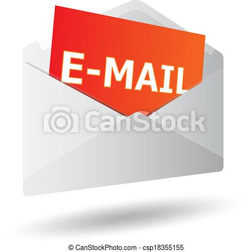 Icon mensaje 3D - csp18355155