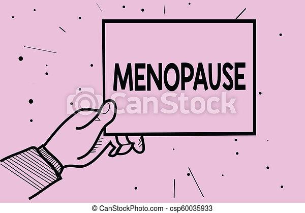 Menstruation Concept Texte Période Papier Information Fin Pointillé Pourpre écriture Arrière Plan Permanent Tenue Cycle Business