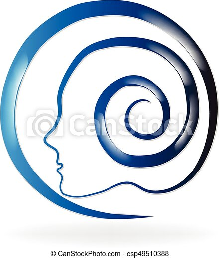 Mental blue health logo - csp49510388