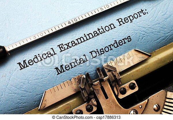 Mental disorder - csp17886313