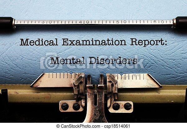 Mental disorders - csp18514061