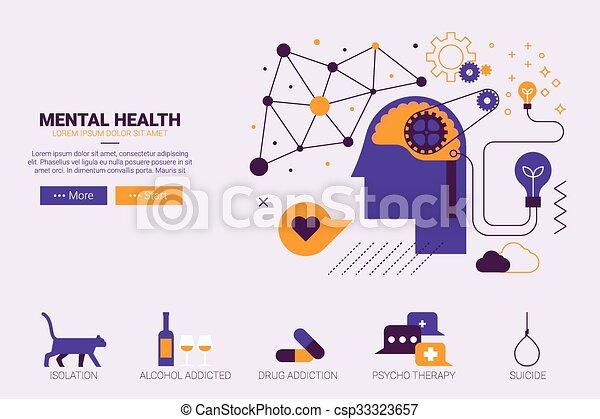 Mental health concept - csp33323657