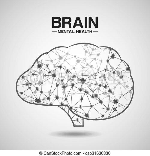 mental health design  - csp31630330